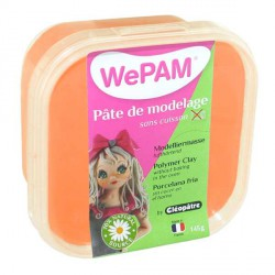 Porcelaine froide WePam Orange Fluo - 145 gr