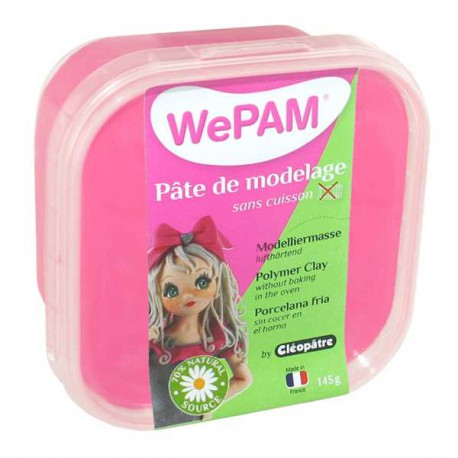 Porcelaine froide WePam Rose Fluo - 145 gr