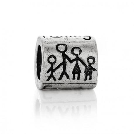 Métal Family style Pandora - à l'unité