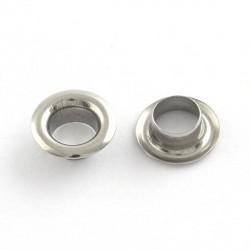 Caps embout de métal inoxydable, 9,5 x 4,5 mm