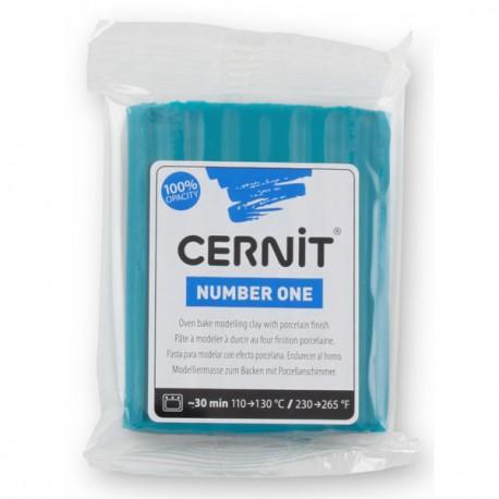 Cernit Number One Bleu Canard 230 - 56 gr