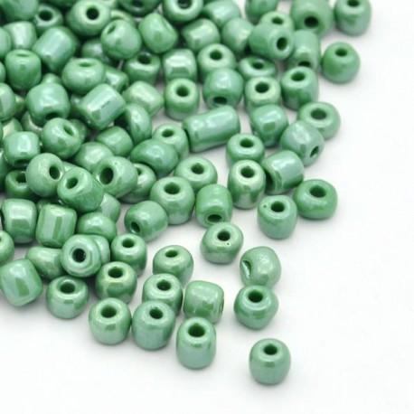 Sachet 50 gr perles de rocaille opaques nacrées - 2 mm