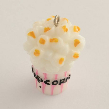 Breloque en plastique Pop Corn