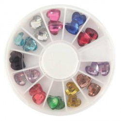 Boite 24 Diamants Coeurs