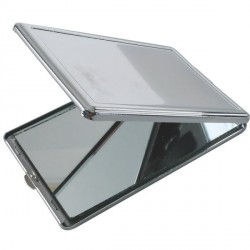 Miroir rectangle métallique à décorer