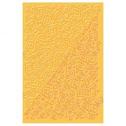 Plaque de texture Labyrinthe 20 x 13 cm