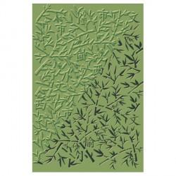 Plaque de texture Bambou 20 x 13 cm