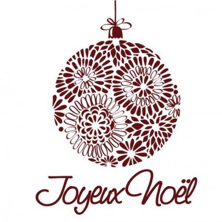 Tampon Boule Joyeux Noël