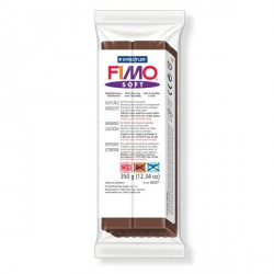 Fimo Soft Chocolat 75 - 350 gr