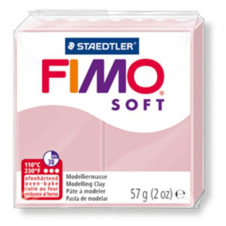 Fimo Soft Rose tendre 21 - 57 gr