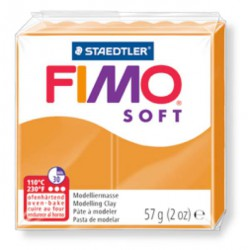 Fimo Soft Orange clair 41 - 57 gr