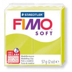 Pate Fimo Soft Citron vert 52 - 57 gr