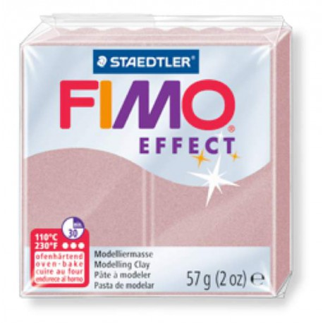 Fimo Effect 207 Rose Perlé - 57 gr