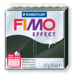 Fimo Effect 907 Noir Perlé - 57 gr