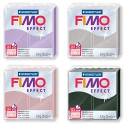 Lot 4 Fimo Effect Perlé - 57 gr