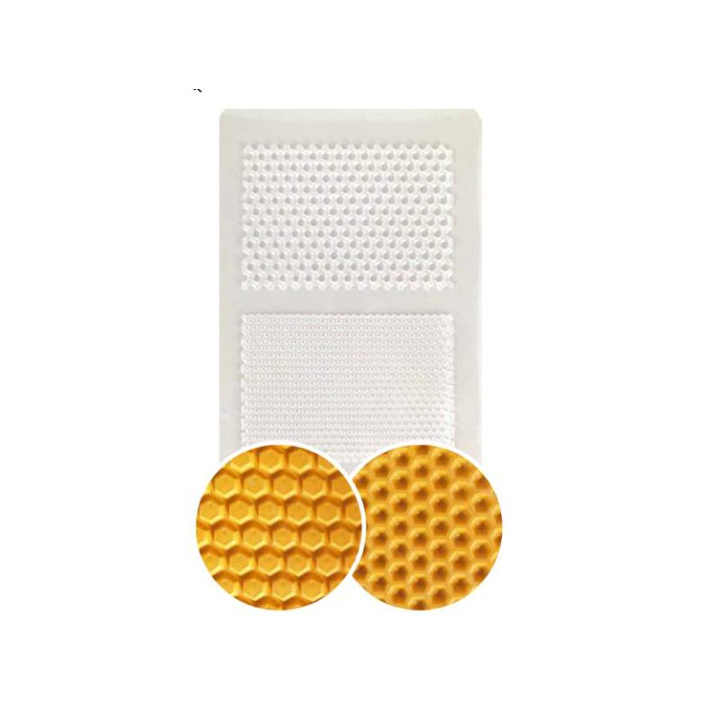 plaque de texture nid d 39 abeille 20 x 13 cm. Black Bedroom Furniture Sets. Home Design Ideas