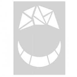 Gabarit de découpe Mosaïque 21 x 15 cm