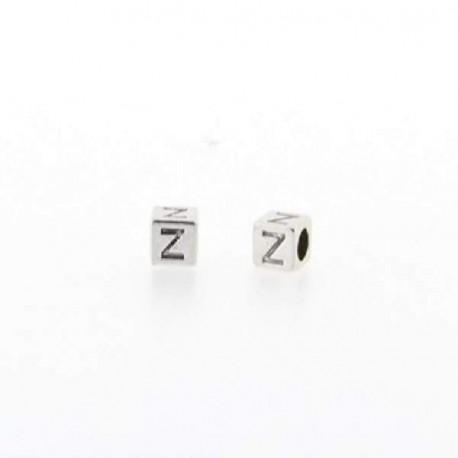 Métal Lettre Z style Pandora - à l'unité