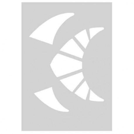 Gabarit de découpe Reine d'Egypte 21 x 15 cm