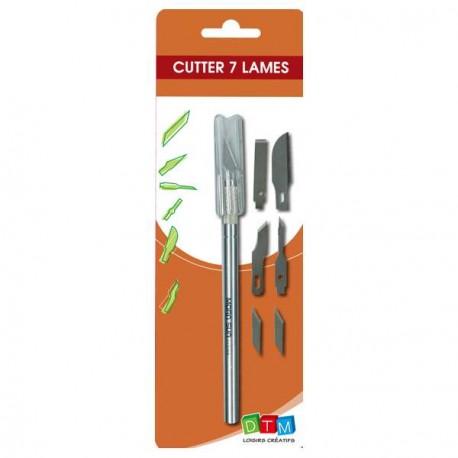 Cutter 7 lames