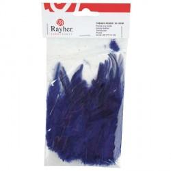 Plumes à la mode - bleu foncé - 10 à 15 cm