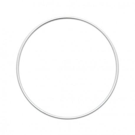 Cercle nu blanc - 15 cm