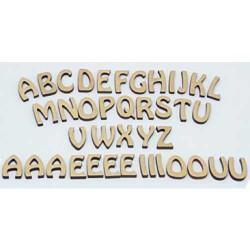 Mot - Lettres Mot en bois brut