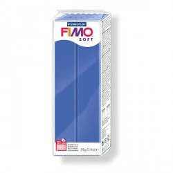 Fimo Soft Bleu Brillant 33 - 350 gr