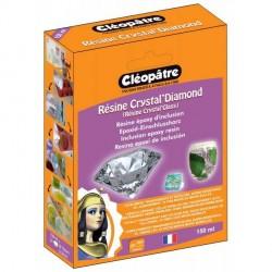 Résine Cléopâtre Crystal'Diamond pour bijoux et inclusion - 150 ml