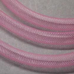 Résille tubulaire fine Rose pâle, 4 mm ø - au mètre