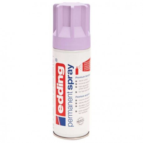 Edding Permanent Spray peinture Lavande, mat - 200 ml