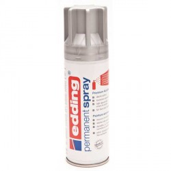 Edding Permanent Spray peinture Argent, mat - 200 ml