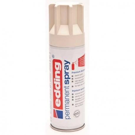 Edding Permanent Spray peinture Blanc crème, mat - 200 ml
