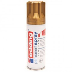 Edding Permanent Spray peinture Or, mat - 200 ml