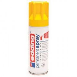 Edding Permanent Spray peinture Jaune, mat - 200 ml