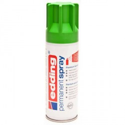 Edding Permanent Spray peinture Vert jaune, mat - 200 ml