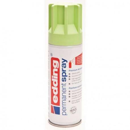 Edding Permanent Spray peinture Vert pastel, mat - 200 ml