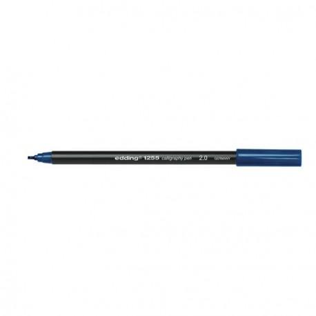 Edding Feutre calligraphie Bleu pointe 2.0