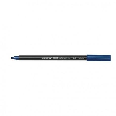 Edding Feutre calligraphie Bleu pointe 3.5