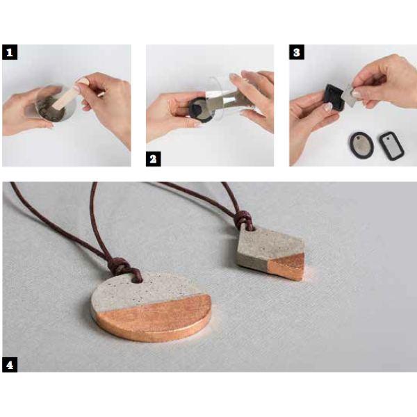 Instructions moule à bijoux pour Béton