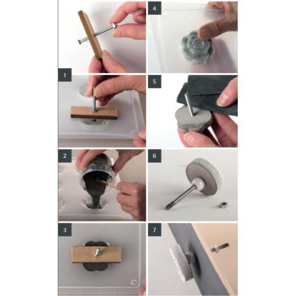 Insctructions poignées tiroir