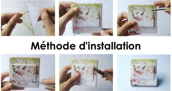 Installation des stickers