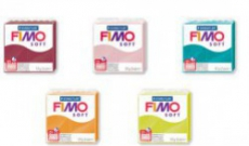 Comparatif Pâte crue et cuite des 9 nouvelles couleurs Fimo 2016