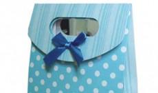 De jolis sacs cadeaux cartonnés