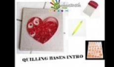 Matériel et Formes de base du Quilling - Tuto