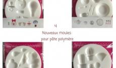 Nouveaux moules pour pate polymère